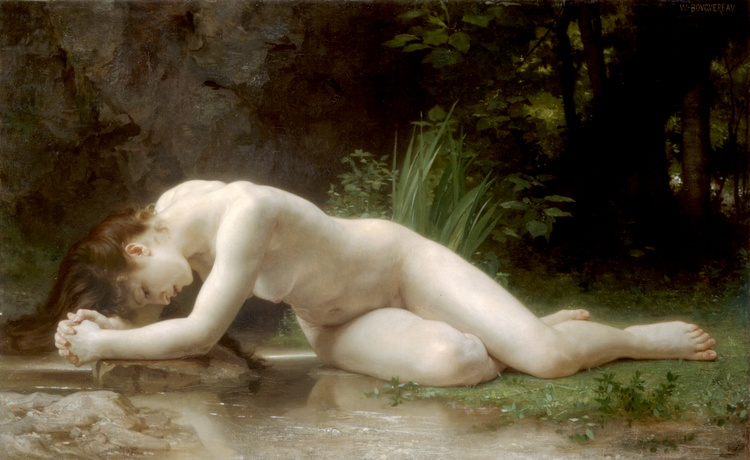 Order Paintings Reproductions | Biblis by William Adolphe Bouguereau | AllPaintingsStore.com