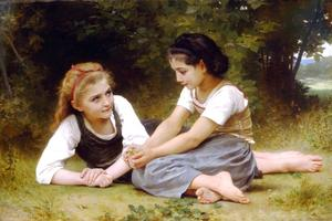 William Adolphe Bouguereau - Hazelnuts
