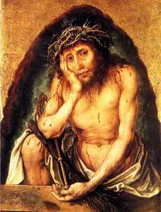 Albrecht Durer - the Man of Sorrows, karlsruhe