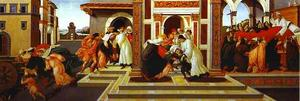 Sandro Botticelli - Last Miracle and the Death of St. Zenobius