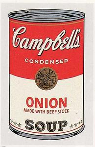Andy Warhol - Campbell'S Soup Can (onion)