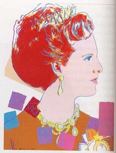 Andy Warhol - Queen Margrethe II Of Denmark