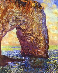 Claude Monet - The Mannerportre near Etretat