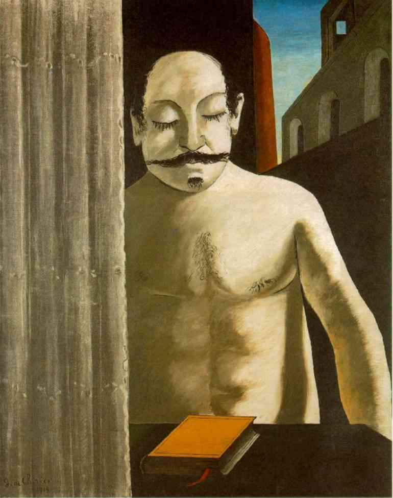 famous painting The Child's Brain of Giorgio De Chirico