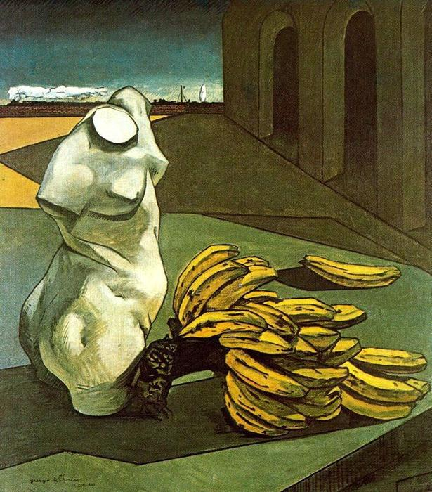 famous painting The Uncertainty of the Poet of Giorgio De Chirico