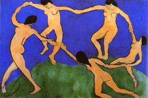 Henri Matisse - La Danse (first version)