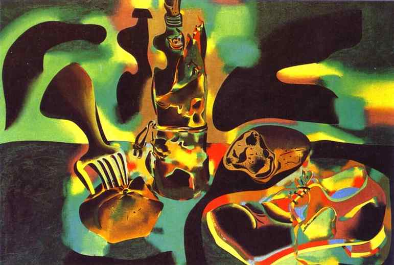 famous painting Still Life with Old Shoe of Joan Miro