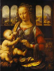 Leonardo Da Vinci - Madonna with the Carnation