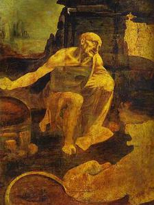 Leonardo Da Vinci - St Jerome in the Wilderness