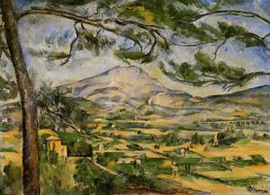 Paul Cezanne - Mont Sainte-Victoire (Courtauld)