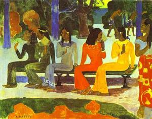 Paul Gauguin - Ta Matete (We Shall Not Go to Market Today)