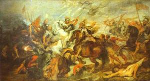 Peter Paul Rubens - Henry IV at the Battle of Ivry