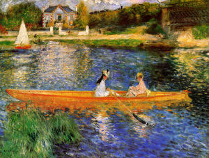 Pierre-Auguste Renoir - Banks of the Seine at Asnieres
