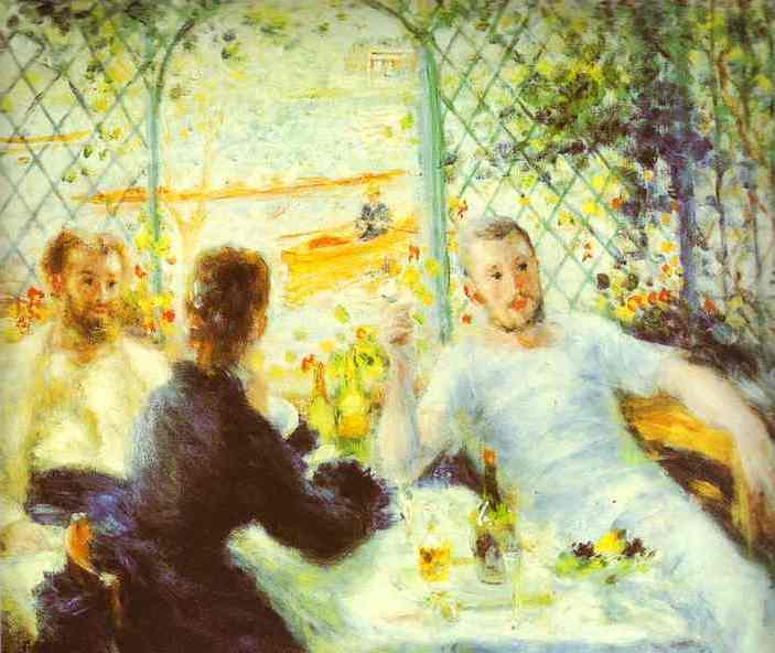 Order Art Reproductions | The Luncheon of the Boating Party by Pierre-Auguste Renoir | AllPaintingsStore.com