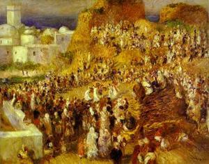 Pierre-Auguste Renoir - The Mosque (Arab Holiday)
