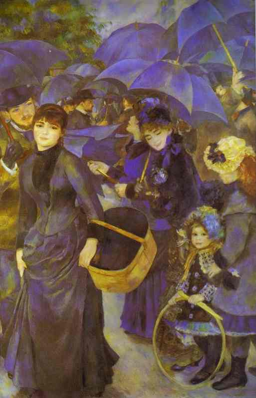 Order Museum Quality Copies | The Umbrellas by Pierre-Auguste Renoir | AllPaintingsStore.com
