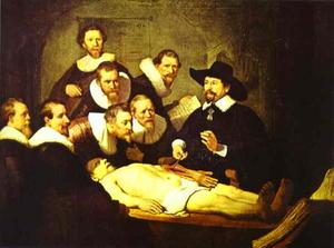 Rembrandt Van Rijn - Doctor Nicolaes Tulp's Demonstration of the Anatomy of the Arm