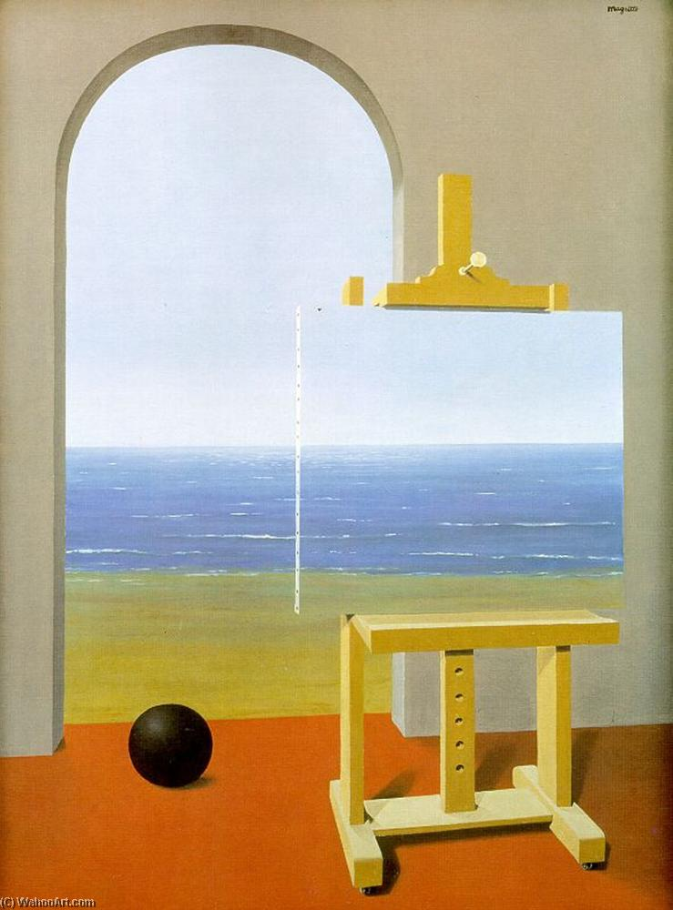 famous painting The Human Condition of Rene Magritte