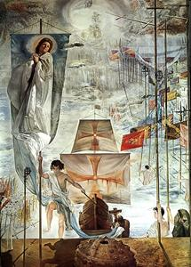 Salvador Dali - The Dream Of Christopher Columbus