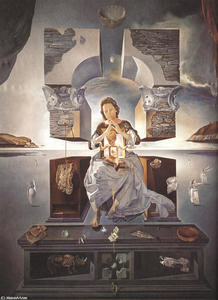 Salvador Dali - The Madonna of Port Lligat
