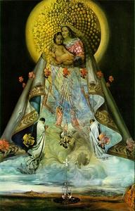 Salvador Dali - The Virgin of Guadalupe