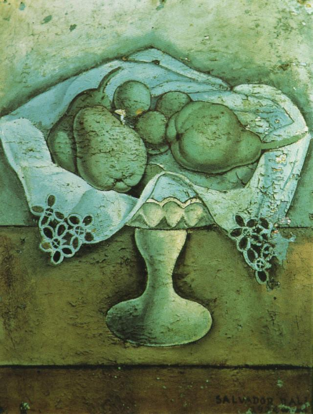famous painting Still Life, 1924 of Salvador Dali
