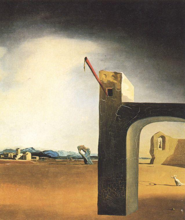 famous painting 'Morphological Echo', circa 1936 of Salvador Dali