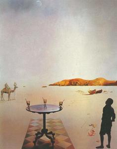 Salvador Dali - Sun Table, 1936