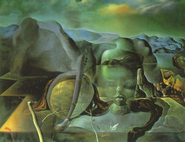Order Oil Painting : The Endless Enigma, 1938 by Salvador Dali | AllPaintingsStore.com