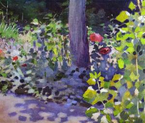 Viktor Elpidiforovich Borisov Musatov - Poppies in the Garden