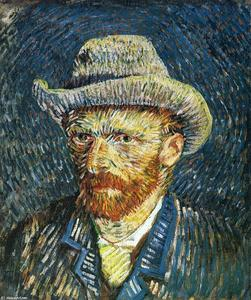 Vincent Van Gogh - Self Portrait with Felt Hat