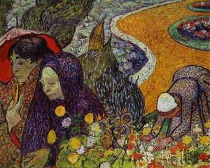Vincent Van Gogh - Ladies of Arles (Reminiscence of the Garden at Etten)