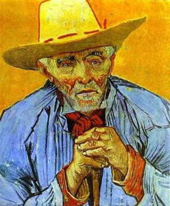 Vincent Van Gogh - Portrait of an Old Peasant
