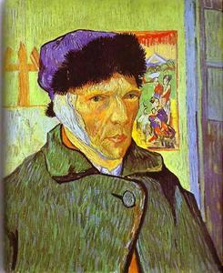 Vincent Van Gogh - Self-Portrait with Bandaged Ear