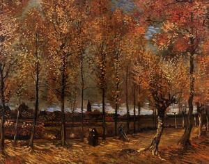 Vincent Van Gogh - Lane with Poplars