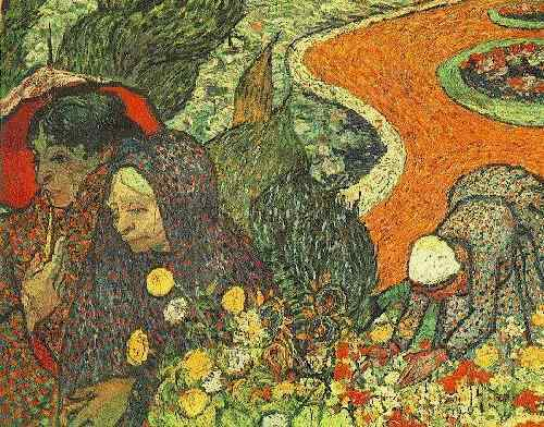 famous painting Memory of the Garden at Etten of Vincent Van Gogh
