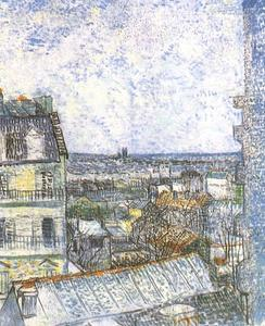 Vincent Van Gogh - View of Paris from Vincent's Room in the Rue Lepic 2