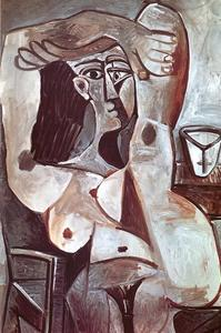 Pablo Picasso - Nude with Uplifted Arms