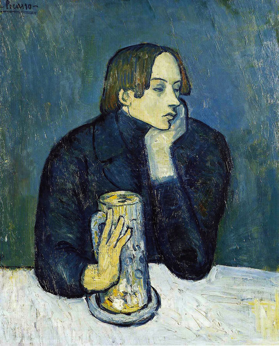 famous painting Sabartes of Pablo Picasso