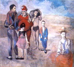 Pablo Picasso - Saltimbanques (The Family of Saltimbanques)