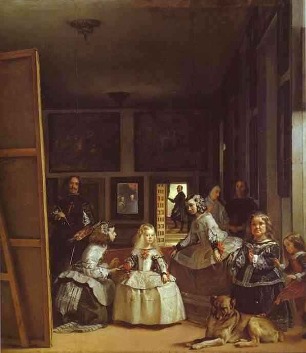 famous painting Las Meninas (The Maids of Honor) or the Royal Family of Diego Velazquez