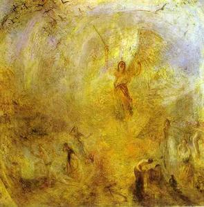 William Turner - The Angel, Standing in the Sun