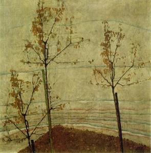 Egon Schiele - Autumn Trees1911