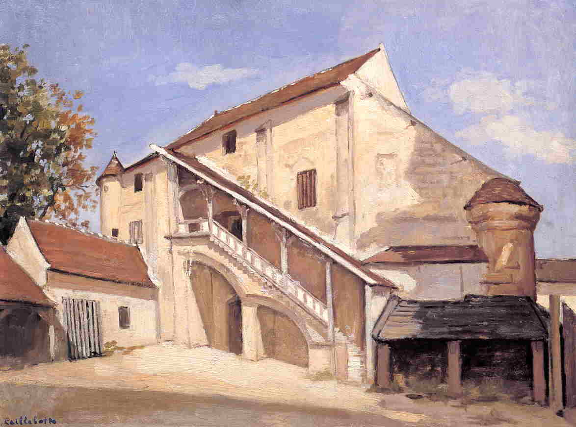 Order Reproductions | Meaux. Effect of Sunlight on the Old Chapterhouse by Gustave Caillebotte | AllPaintingsStore.com