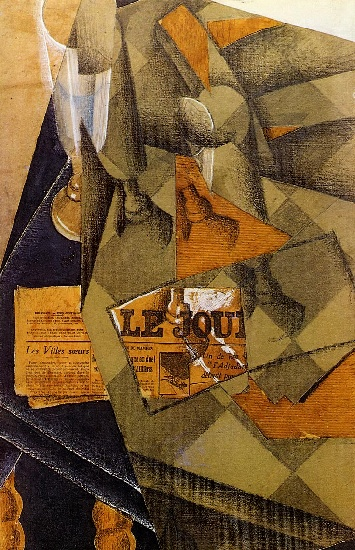 famous painting Still Life of Juan Gris