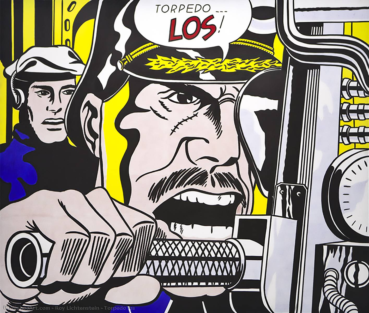 famous painting Torpedo los of Roy Lichtenstein