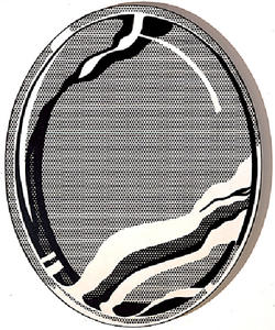 Roy Lichtenstein - Mirror 1