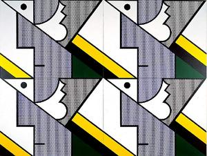 Roy Lichtenstein - Modular Painting with Four Panels 8