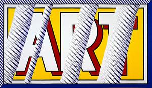 Roy Lichtenstein - Reflections Art