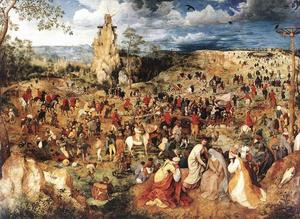 Pieter Bruegel The Elder - Christ Carrying the Cross